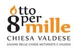 8X1000 Chiesa Valdese - logo