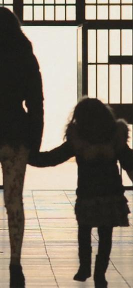 Dopo il colloquio col papà detenuto (carcere di Opera, Milano)