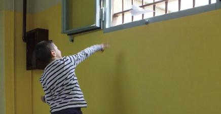 Bambinisenzasbarre - Lo Spazio Giallo nel carcere di Opera