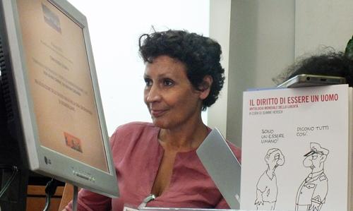 Daniela Morante, coordinatrice dello Spazio Giallo del carcere di Secondigliano