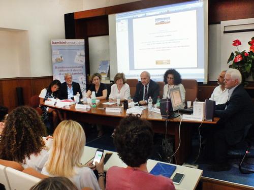 Annamaria Palmieri, Cesare Romano, Carmelina Grimaldi, Adriana Tocco, Francesco Saverio de Martino, Lia Sacerdote, Liberato Guerriero (da sinistra a destra)