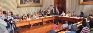 """La conferenza stampa in occasione della firma del rinnovo del """"Protocollo-Carta dei diritti dei figli di genitori detenuti"""""""