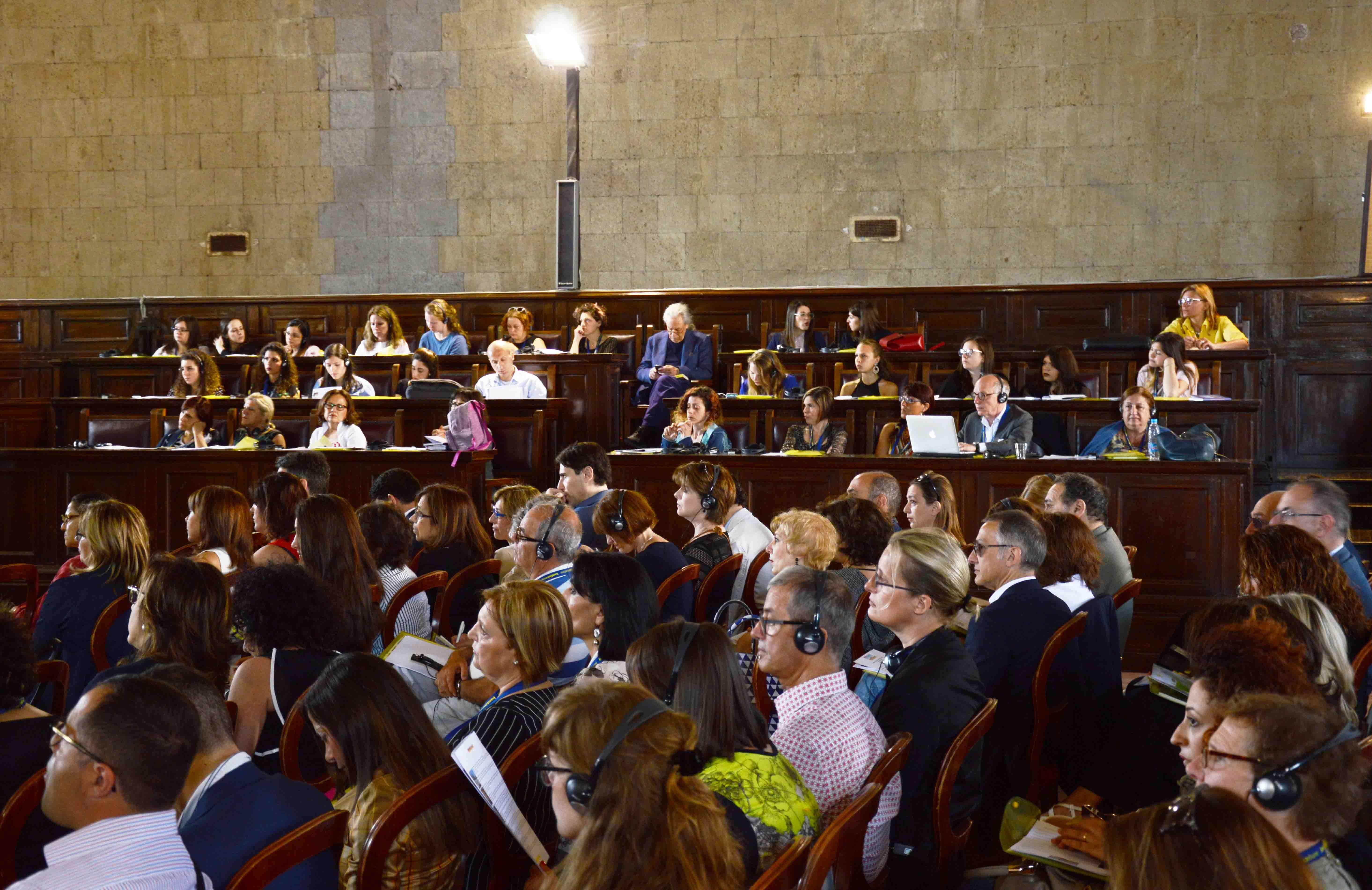 Conferenza, Napoli 2017