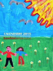 Calendario Bambinisenzasbarre 2018