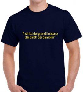 Maglietta solidale bambinisenzasbarre